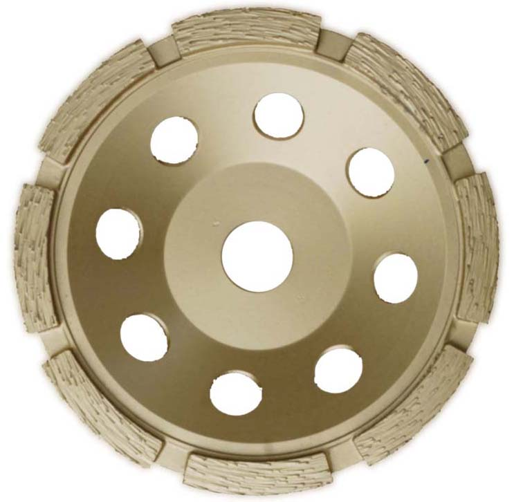 Single Row Concrete Cup Wheels